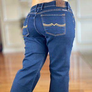 Lucky Brand Sweet N Low Flare Denim Jeans Dark 29